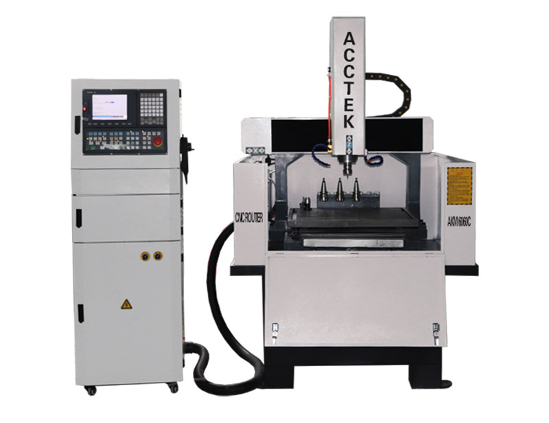 Metal Engraving Machine with ATC