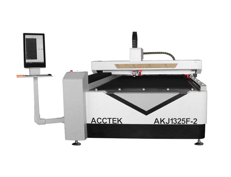 CO2 and fiber combined laser cutting machine AKJ1325F-2
