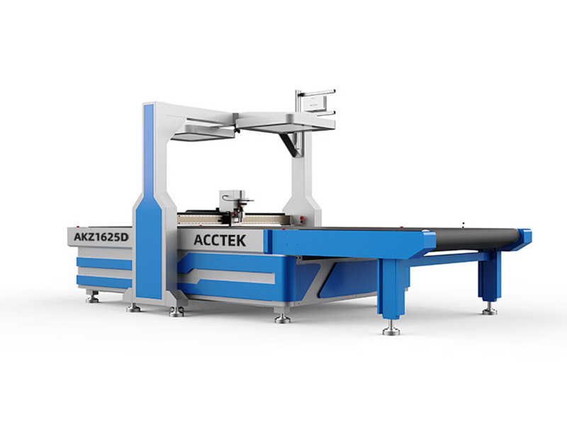 <b>Multilayer fabric pneumatic cutter with CCD camera</b>