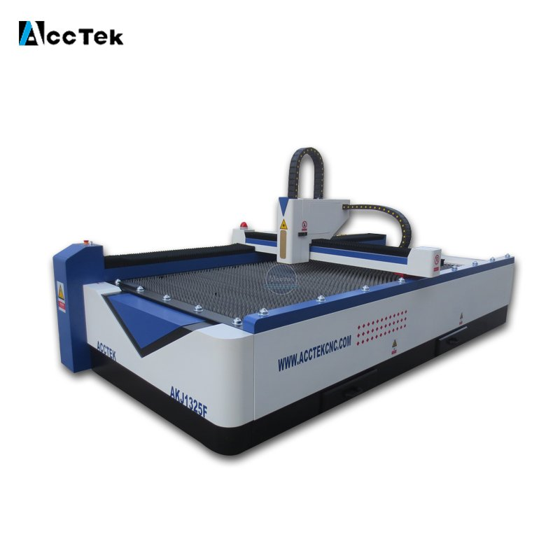 AKJ1325F high quality fiber laser cutting machine