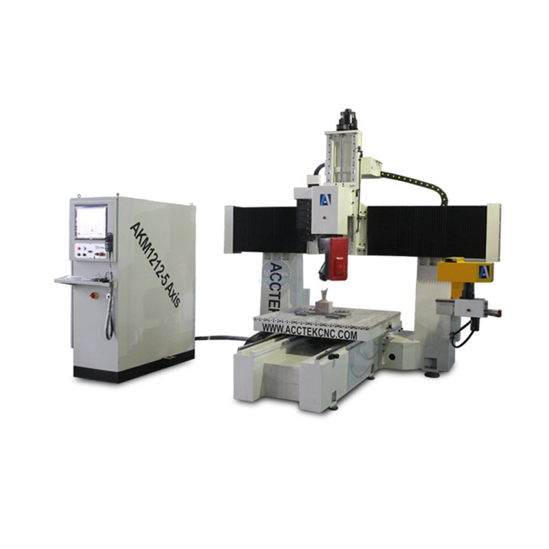 What is the difference between a cnc router 4 axis and a cnc router 5 axis