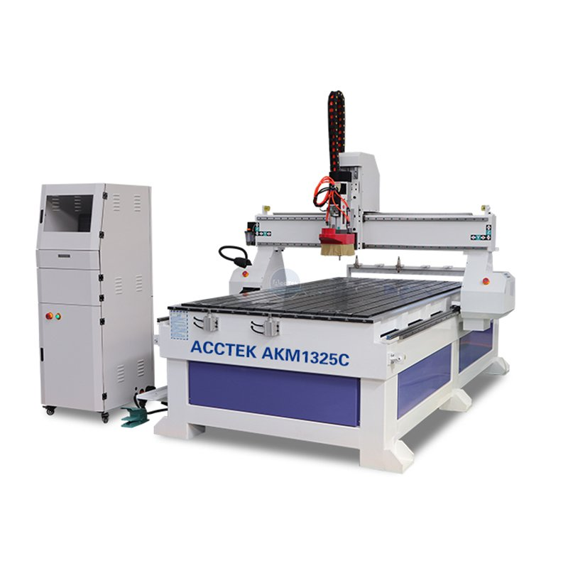 What are the methods of selecting the cutter and spindle of the cnc router