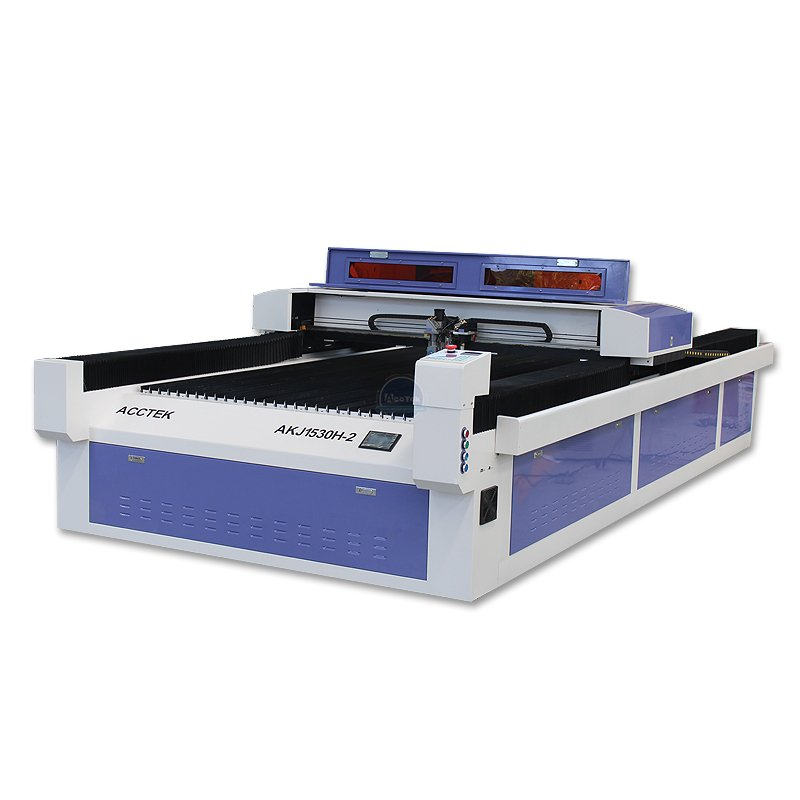 AKJ1530H high quality hybrid laser cutting machine