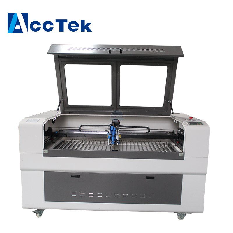 UK customers buy high quality double - headed laser machine akj1390-2