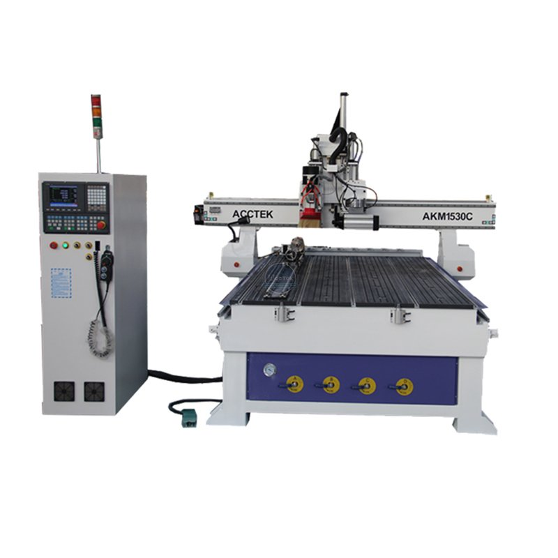 An automatic tool changing machine with cutting knife