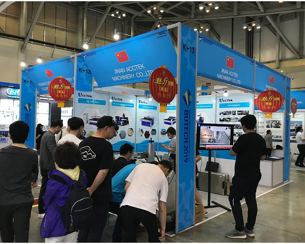 The company will participate in Korea international machine Tool show in October