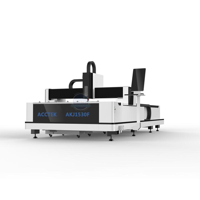 Introduction to AKJ1530F1 Economical fiber laser cutter machine