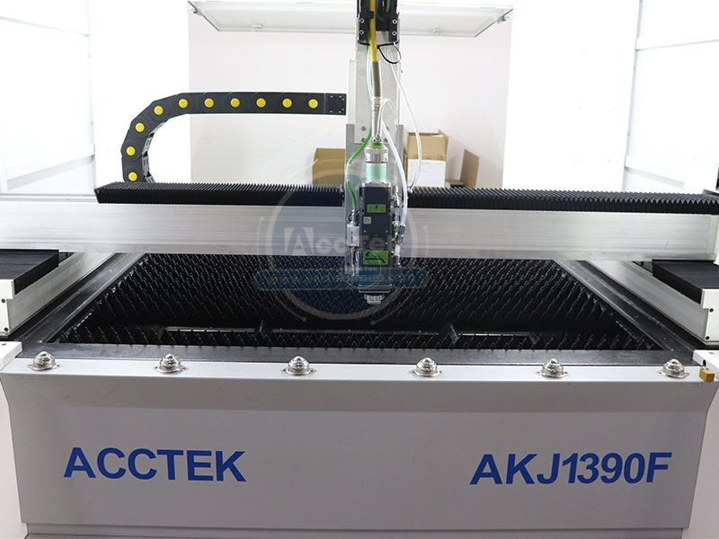 What are the features of laser cutting