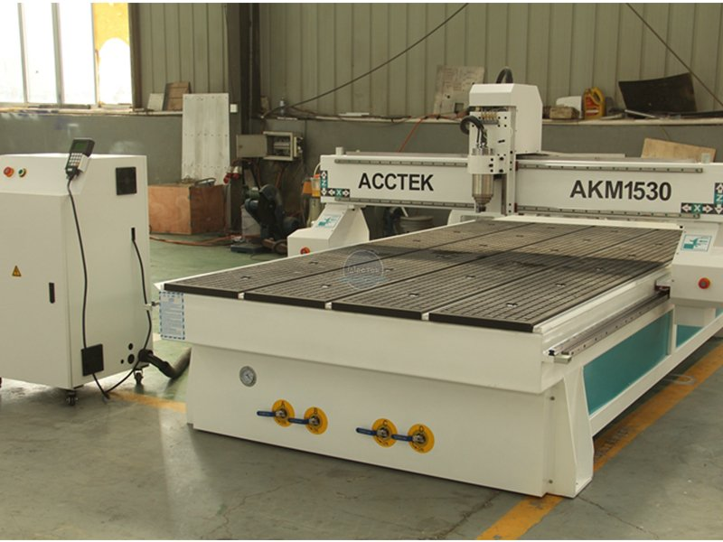 How does a CNC router work
