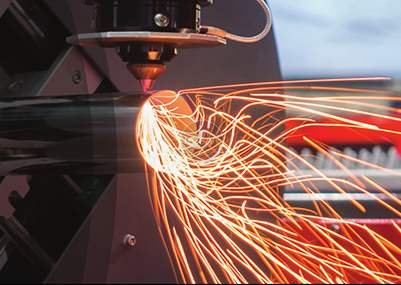 Characteristic analysis of laser cutting machine