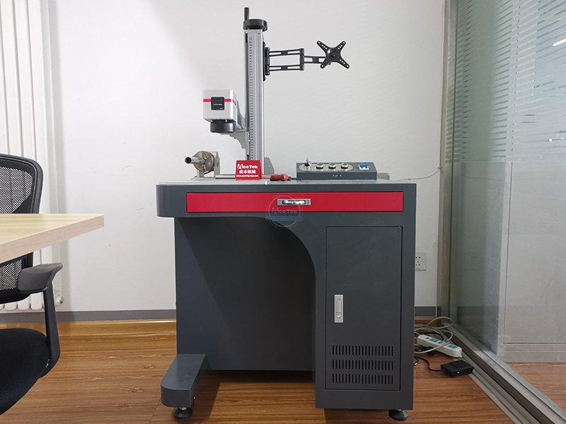 How to install and use the laser marking machine