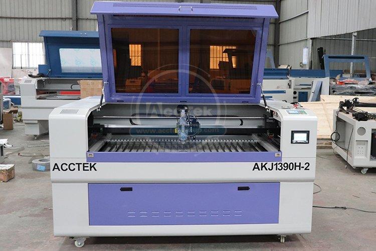 Metal and non-metal laser cutting machine AKJ1390H-2