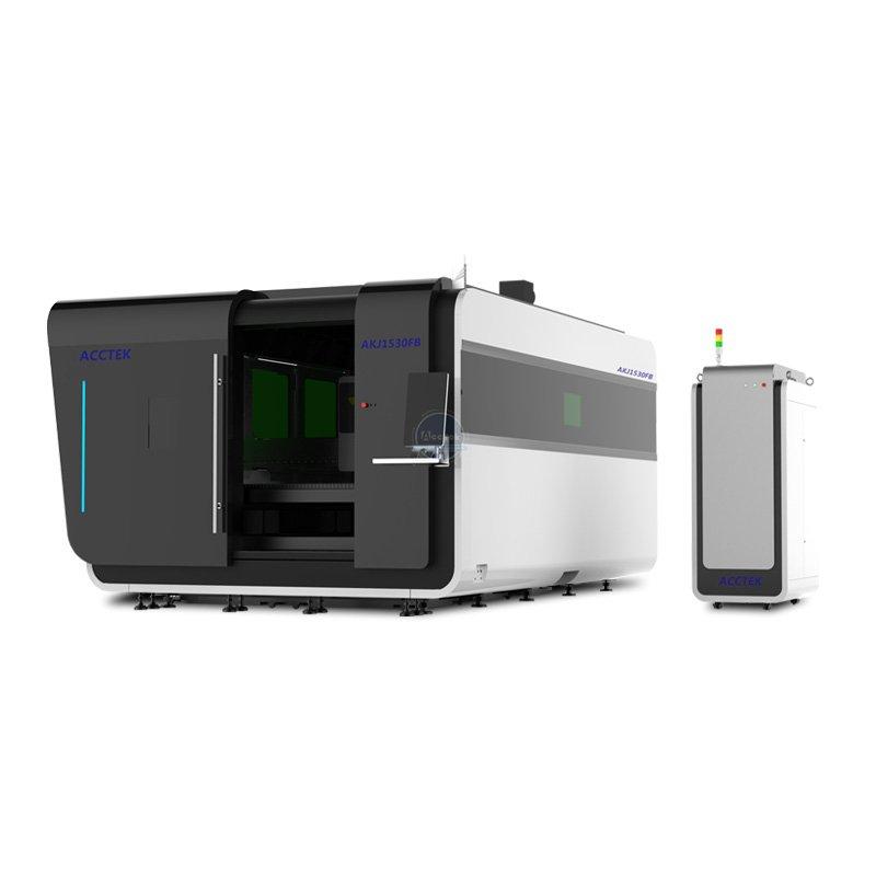 High quality fiber laser cutter AKJ1530FB