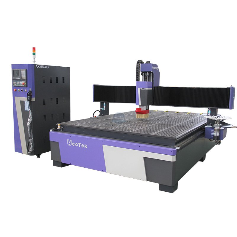 Disc type ATC woodworking cnc router AKM2030D