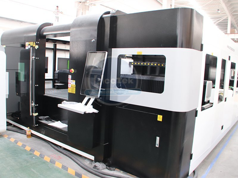 What is the error of the metal laser cutter