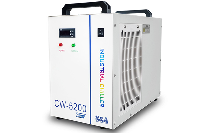 What to do if the temperature of the chiller continues to rise