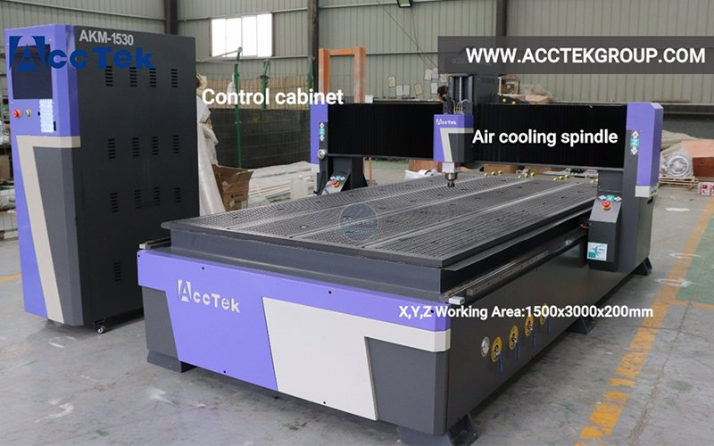 One of ACCTEK CNC ROUTER best-selling models