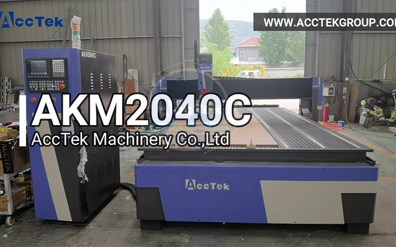 Heavy duty automatic tool changer CNC router AKM2040C