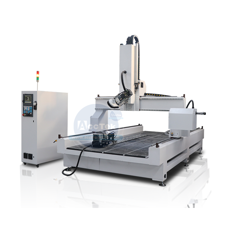 Four axis ATC cnc router AKM1325C-4A