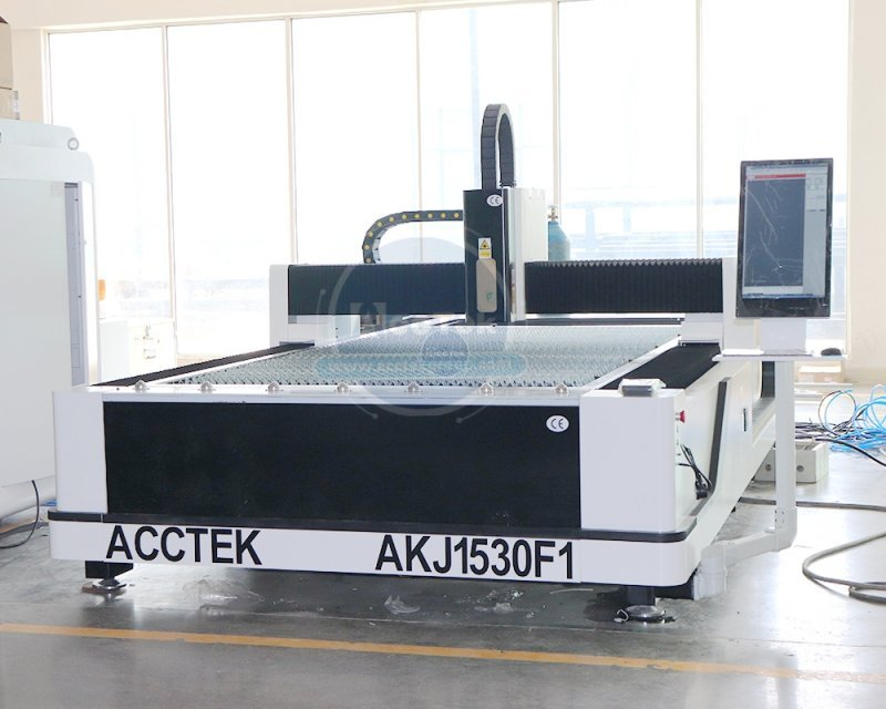 The laser cutting machine needs to be equipped with auxiliary gases