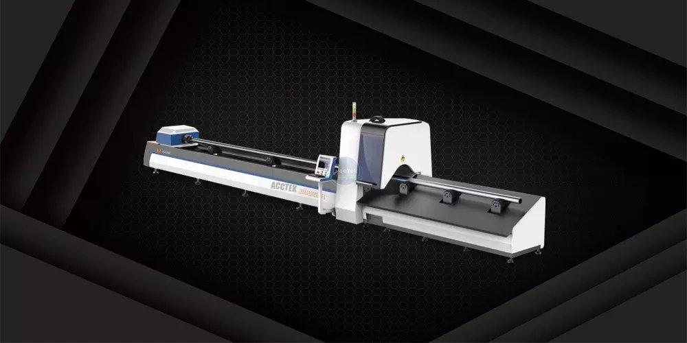 Fiber laser metal tube cutting machine AKJ60F