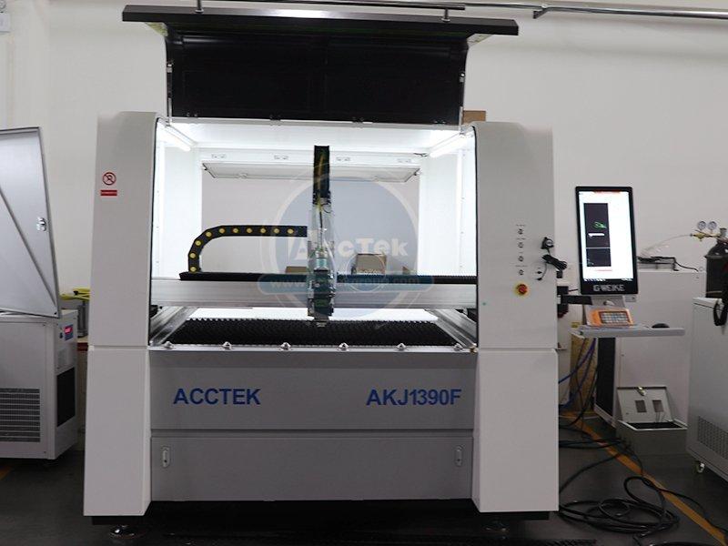 High precision fiber metal laser cutting machine