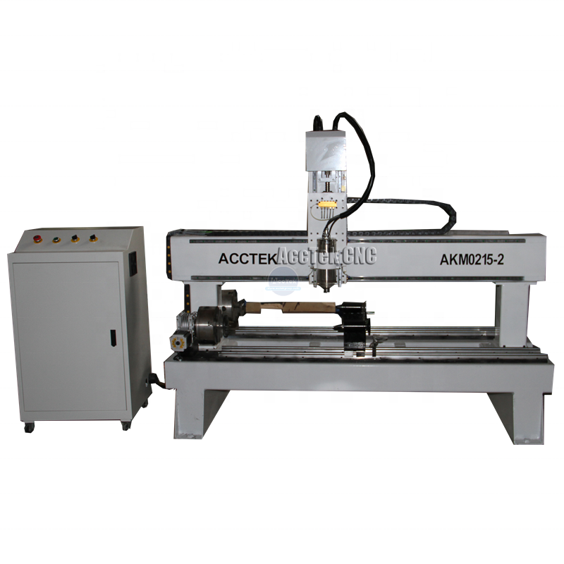 Small round object engraving CNC Router AKM0215-2