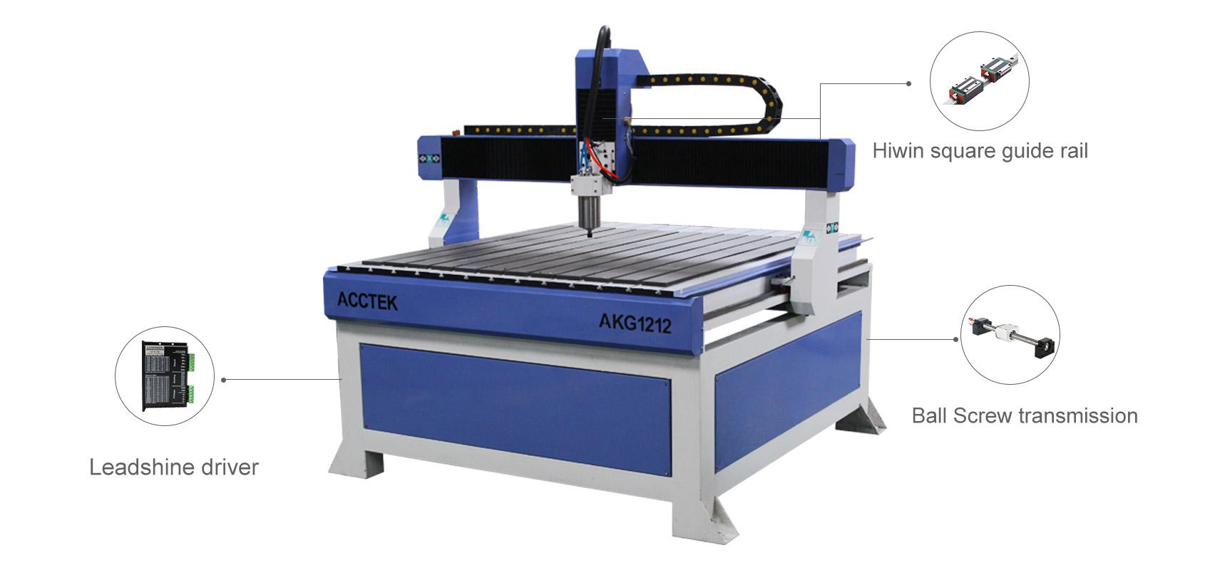 Routeur CNC de taille moyenne AKG 1212