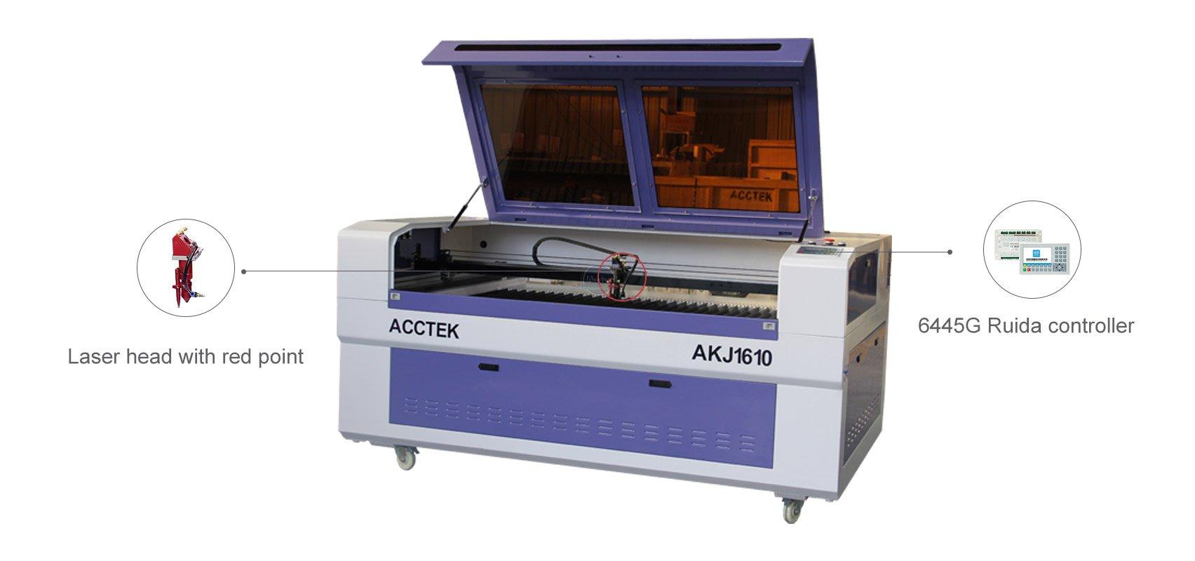 Machine de découpe laser entièrement fermée