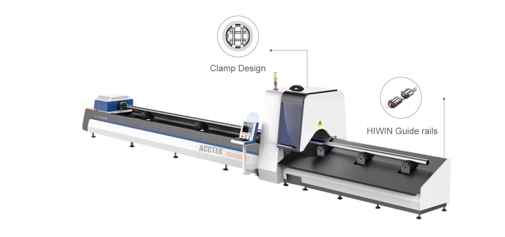 Professional tube laser cutting machine