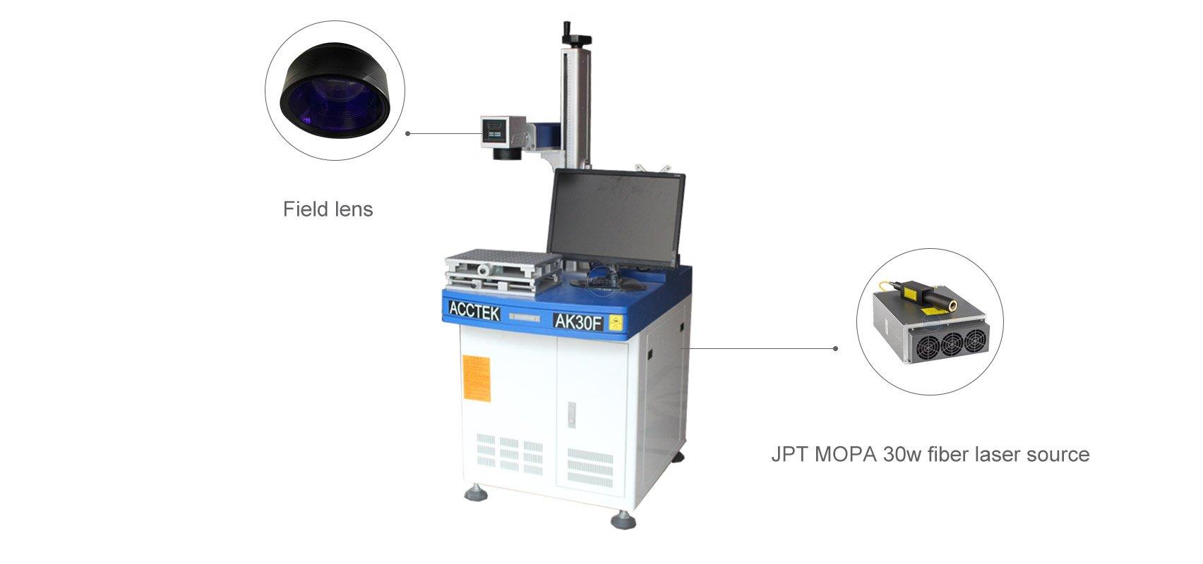 Настольный лазерный маркировочный станок