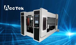High quality metal Fiber Laser Cutting machine AKJ1020F in Czech Republic