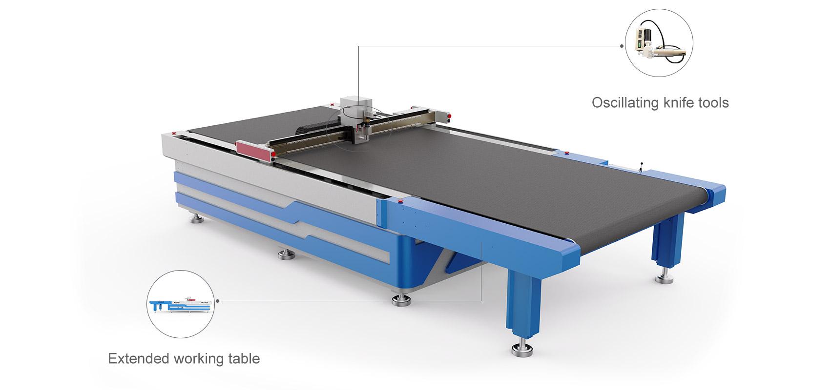 Расширенный автоматический вибрационный нож для кормления