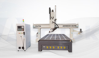 Application and advantages of 4-axis cnc router machine