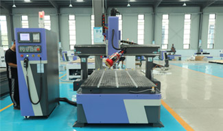 Professional 4 axis ATC CNC Router machine in Norway