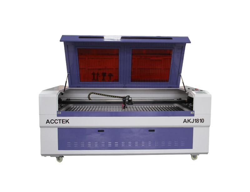 Machine de découpe laser avec caméra CCD