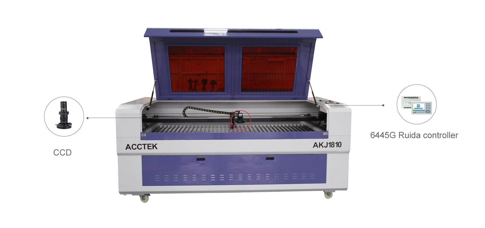Станок для лазерной резки с камерой CCD