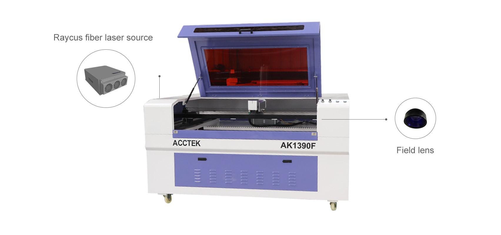 Полностью закрытая машина для маркировки волоконным лазером большого размера