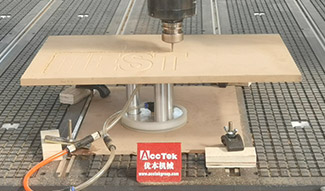 What is the daily maintenance the cnc router?