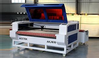 CO2 Laser cloth cutting machine with auto feeding device