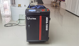 1000W High power Fiber laser cleaning machine for metal