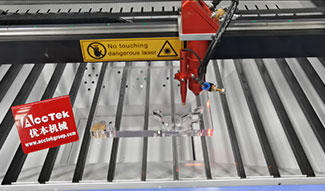 How to use CO2 laser machine to cut thick acrylic