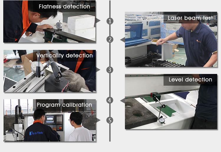 Standard configuration AKJ1530F2 high quality optical fiber laser cutting machine