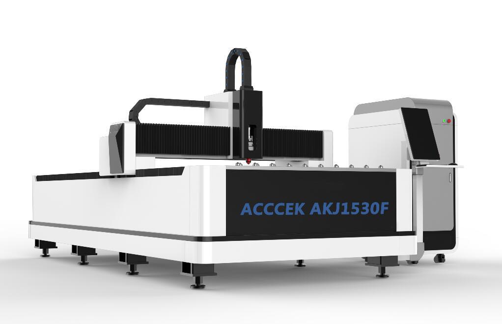 AKJ1520F3 Top-level configuration Optical fiber laser cutting machine