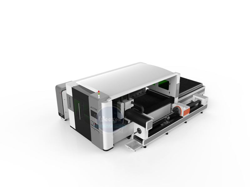 AKJ1530FBR fully enclosed optical fiber laser cutting machine