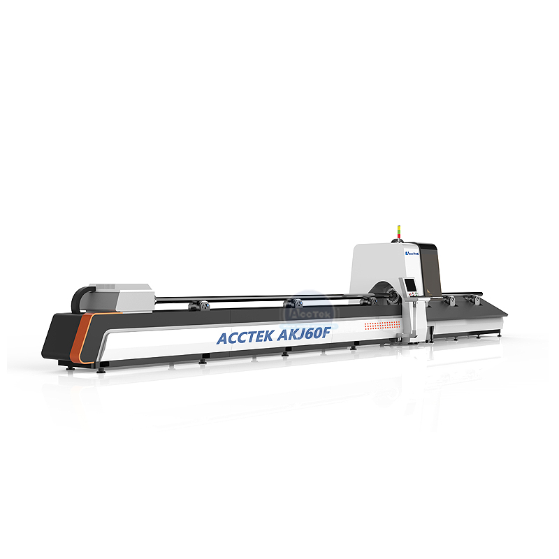 AKJ60F high quality optical fiber laser pipe cutting machine