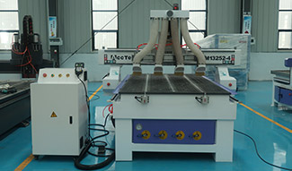 Efficient multi-head CNC router have shipped to Saudi Arabia