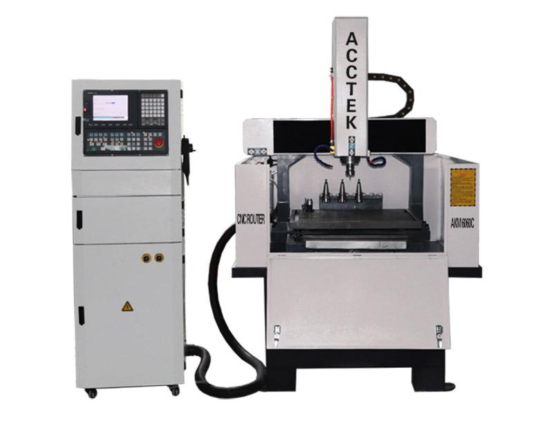 Machine de gravure de métal avec ATC