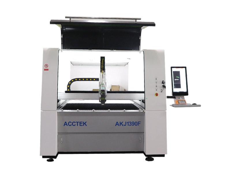 Machine de découpe laser à fibre de précision