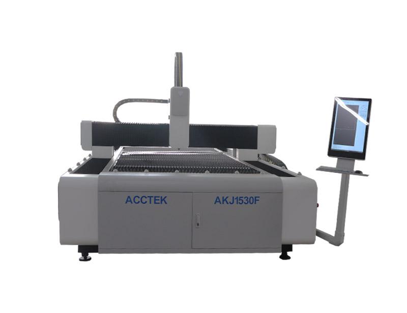 Machine de Découpe Laser à Fibre AKJ1530F3 avec Cadre lourd